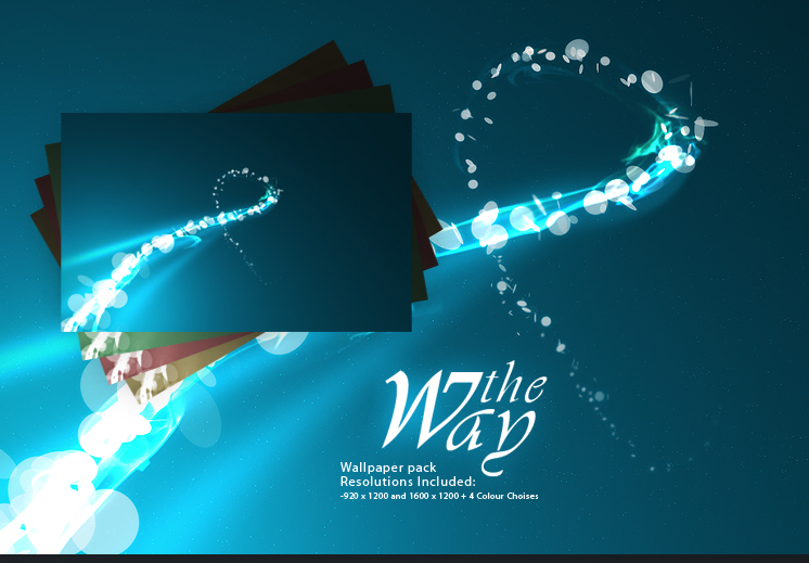 The Way -Wallpaper Pack.