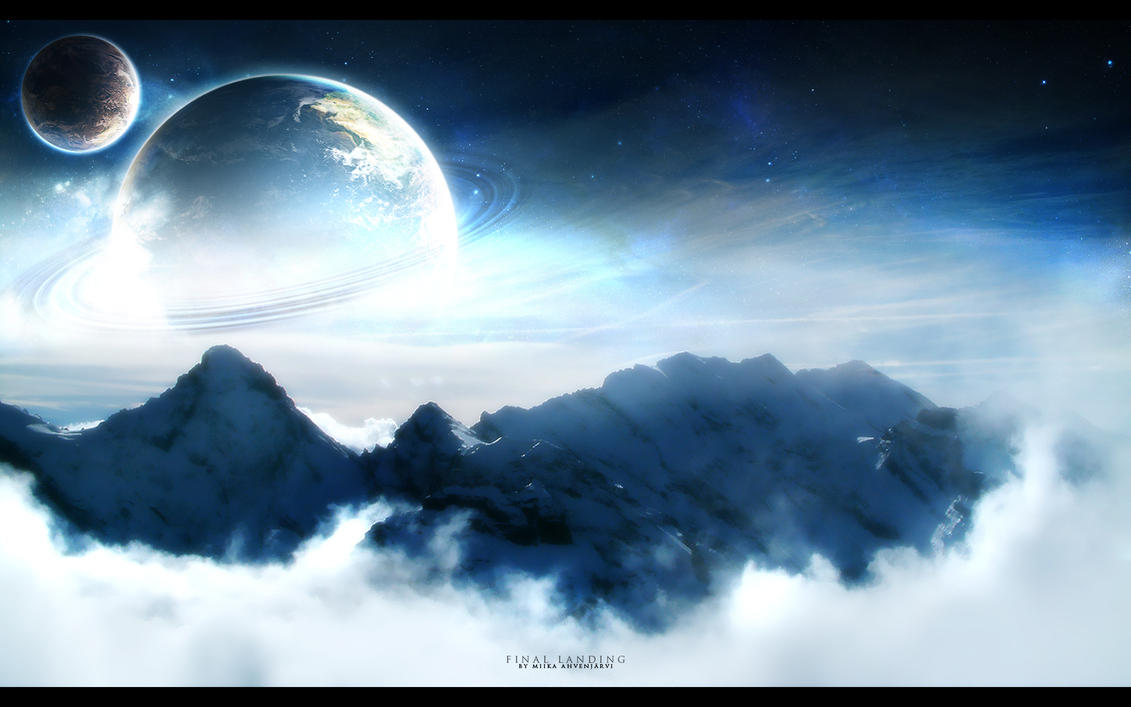 The Final landing. by Uribaani