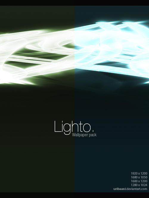 Lighto -Wallpaper pack. by Uribaani