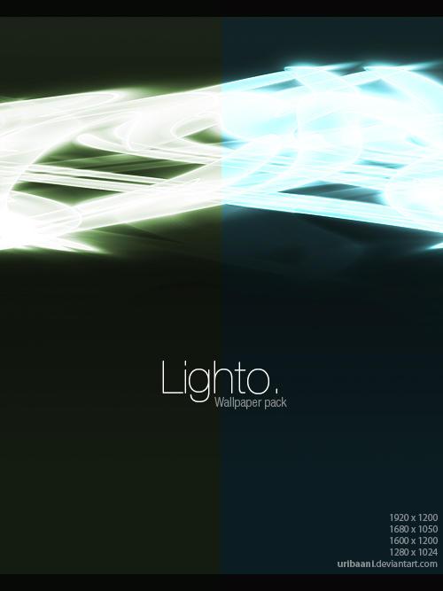Lighto -Wallpaper pack. by Uribaani