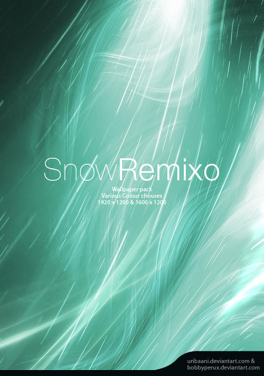 SnowRemixo -Wallpaper pack. by Uribaani