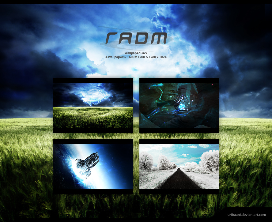 The Radm Wallpaper pack.