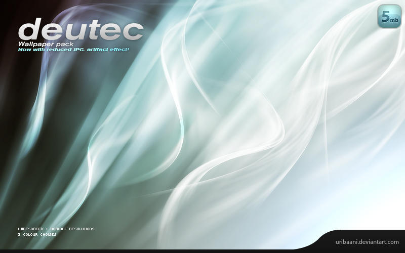 Deutec -Wallpaper pack. by Uribaani