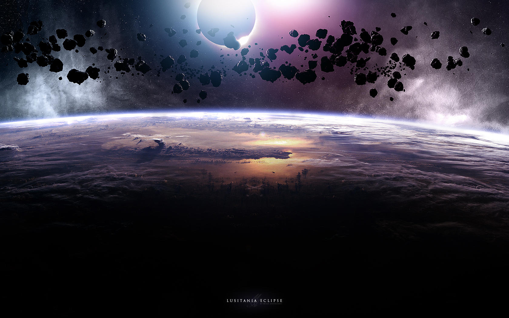 Lusitania Eclipse by Uribaani