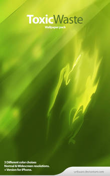 ToxicWaste - Wallpaper pack.