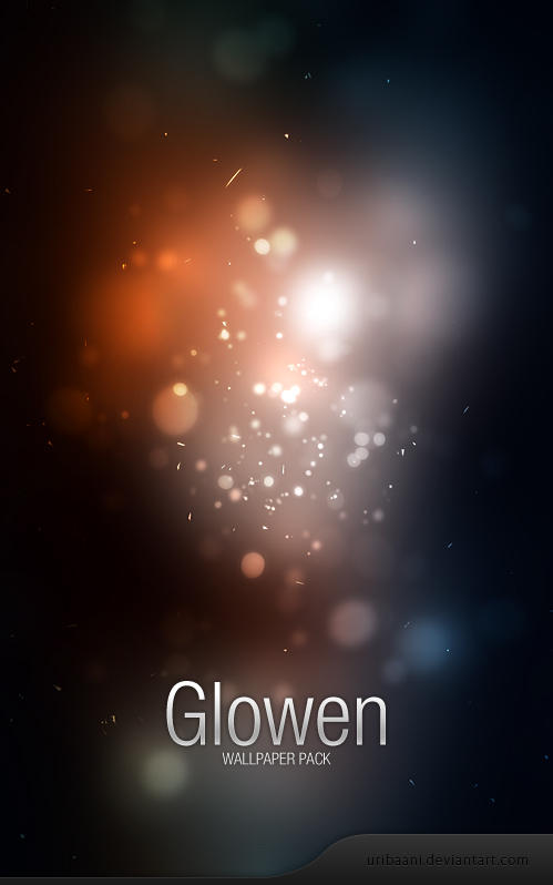 Glowen -Wallpaper pack by Uribaani