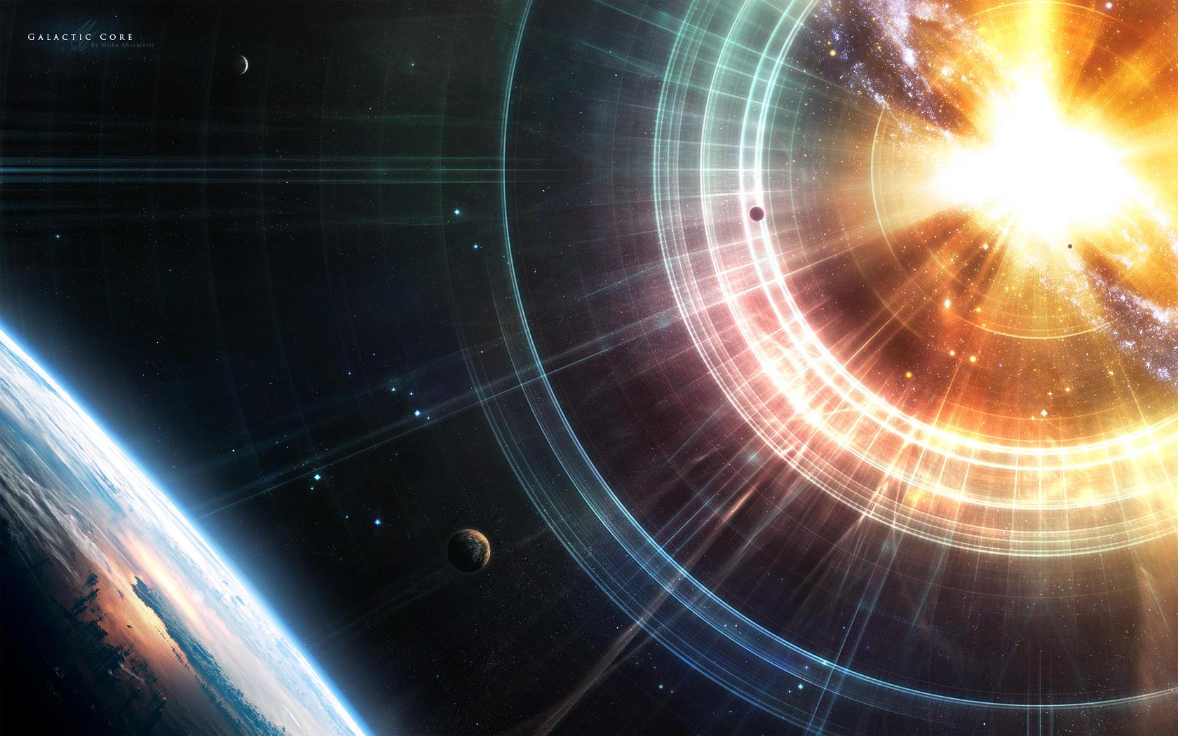 Galactic Core by Uribaani