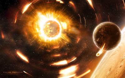 Galaxy Expletio by Uribaani