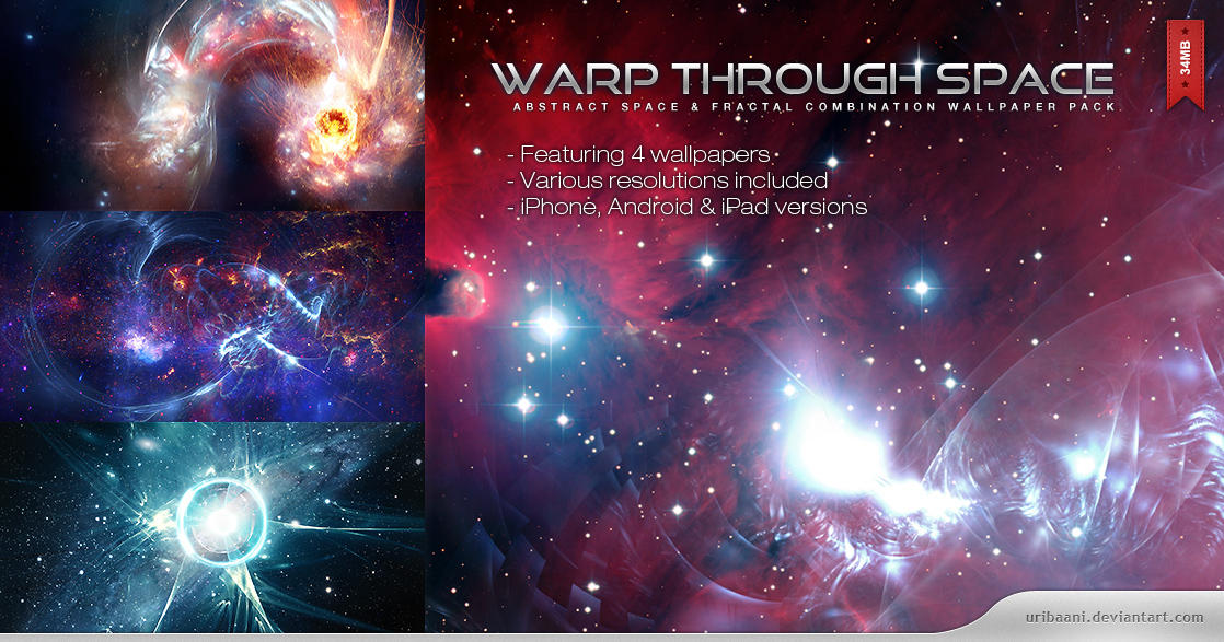 Warp Through Space by Uribaani