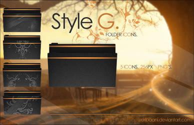 Style G - Folder icons. by Uribaani