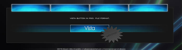 Vista Button. by Uribaani
