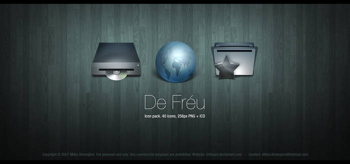 De Freu. -Icon Pack.