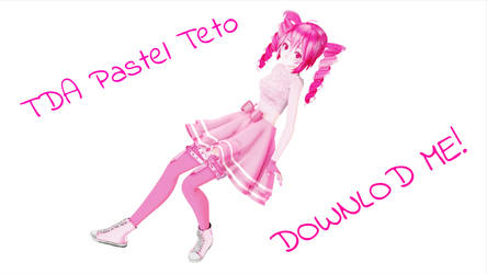[MMD] TDA Pastel Teto [DOWNLOAD OPEN] by CupcakeFactory266