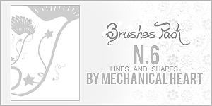 Brushes Pack n6, Shapes Lines by CantBePerfect
