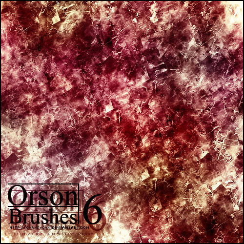 Orsons brushpack 6 by O-R-S-O-N