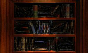 Interactive Myst Bookshelf