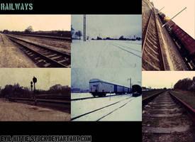 Railways stock by EK-StockPhotos