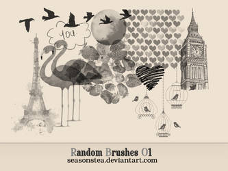 Random Brushes 01 by SeasonsTea