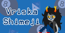 Vriska Shimeji by Sugarkins