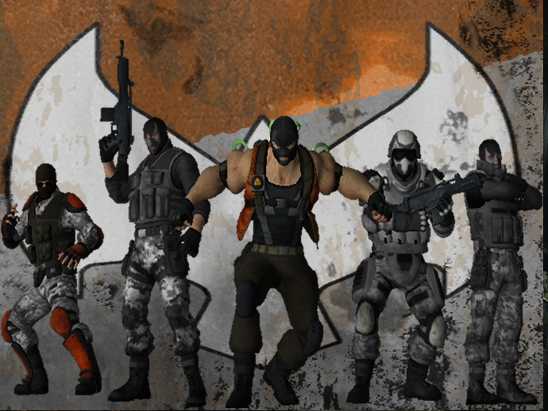 Batman: Arkham Origins - Bane Mercenaries by DaBiggieK