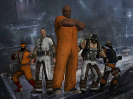 Batman: Arkham Origins - Blackgate Prisoners by DaBiggieK