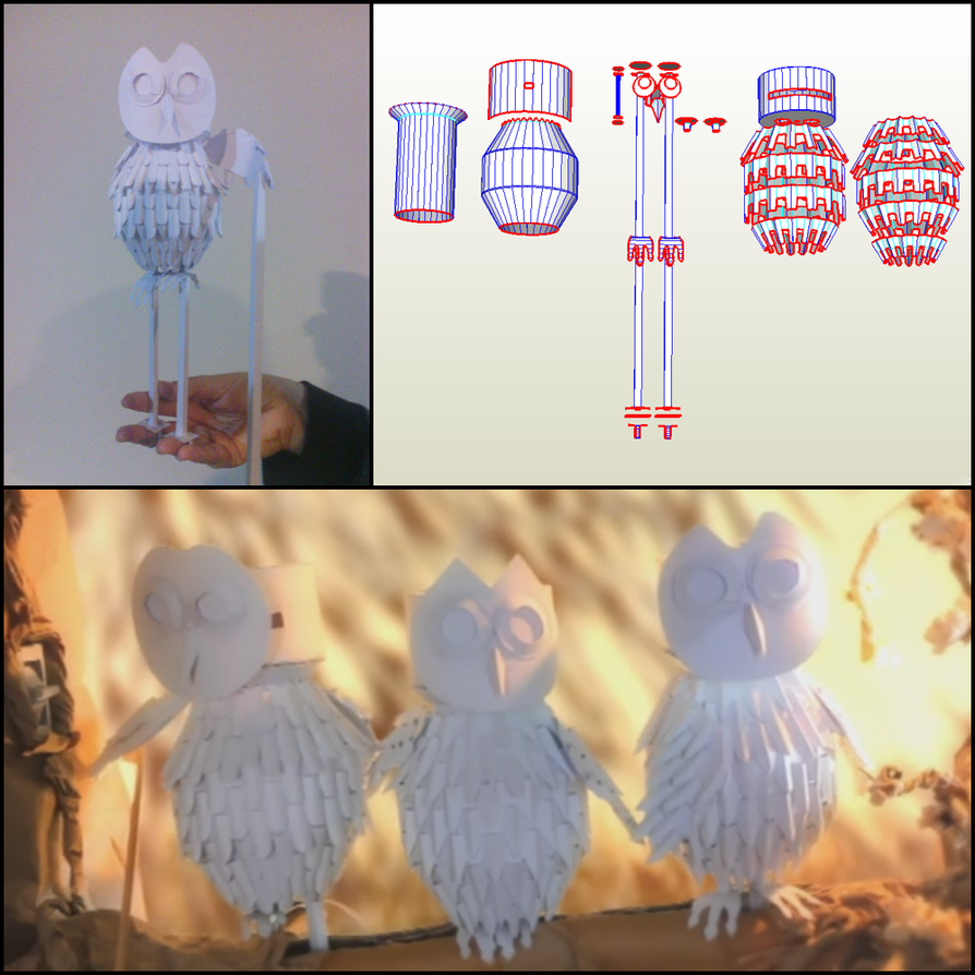 Owl papercraft template by cymae on deviantart owl papercraft template by cymae jeuxipadfo Image collections