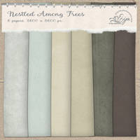 Nestled among Trees paper pack by Eijaite