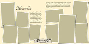 Double page template 006-007