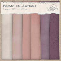 Road to Sunset paper pack by Eijaite