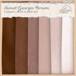 Sweet Georgia Brown paper pack