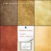Autumn Leaves paper pack by Eijaite
