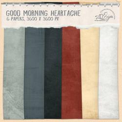 Good Morning Heartache paper pack