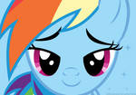 Rainbow Dash Love Face