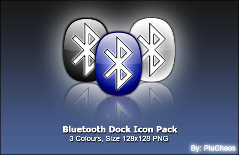 Bluetooth Dock Icon by piuchaos