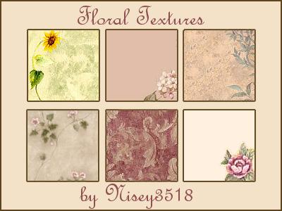 Floral Textures by splashbomb