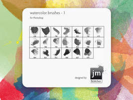 watercolor brushes - 1 by jmb1