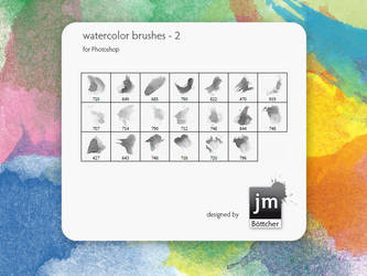 watercolor brushes - 2 by jmb1