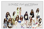 Yuri and Tiffany render pack (11 pngs)
