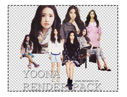 Yoona render pack by Luhye