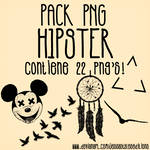 Pack PNG Hipster!