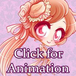 Commission: Peach Tart - Animated -
