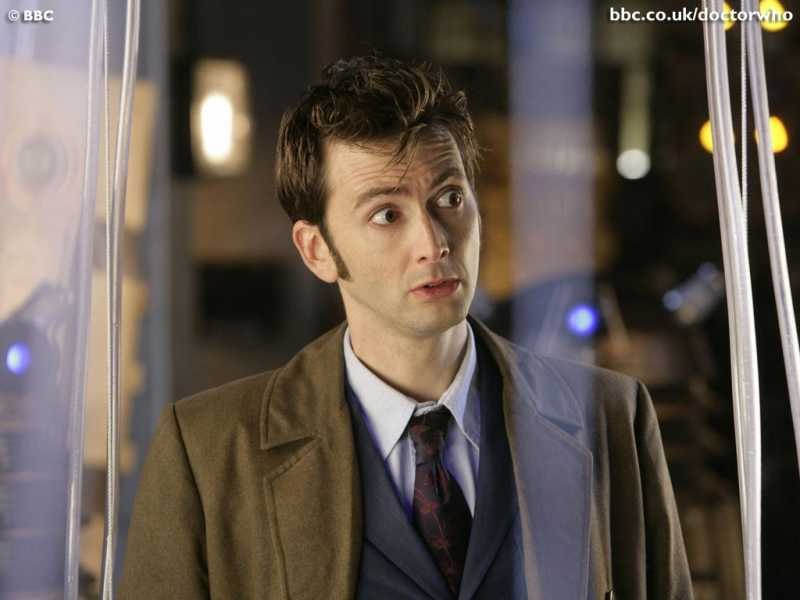 Tenth Doctor Smiling I ll never let you go  Tenth