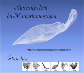 brush fluttering cloth by Margaritamorrigan by margarita-morrigan