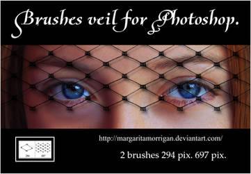 brushes veil for photoshop by margarita-morrigan