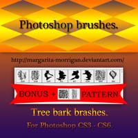 Tree Bark brushes