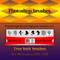 Tree Bark brushes by margarita-morrigan