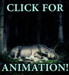 sleeping unicorn ANIMATED