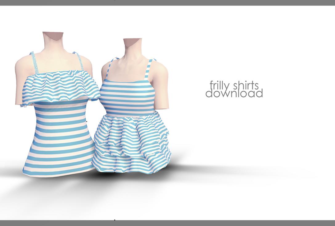 DL: Frilly Shirts by Jjinomu