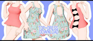 DL: Bow Top and Dress