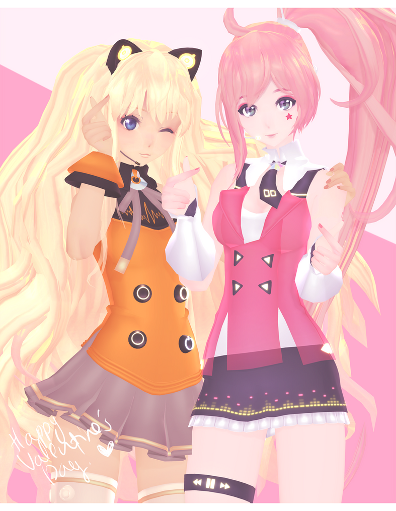 DL: Tda SeeU and UNI [Happy V'DAY!!] by Jjinomu